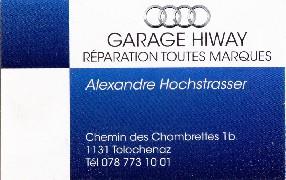 garage hiway Tolochenaz